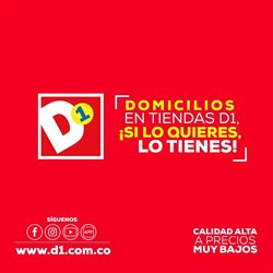 Catálogo Tiendas D1 en Buga ( Caducado )