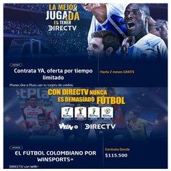 Ofertas de Direct TV en el catálogo de Direct TV ( 3 días más)