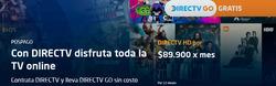 Cupón Direc TV en Cartagena ( 22 días más )