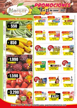 Ofertas de Supermercados en el catálogo de Mercar ( Vence mañana)