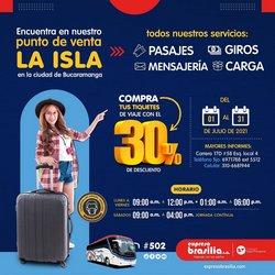Ofertas de Viajes en el catálogo de Expreso Brasilia ( 2 días más)