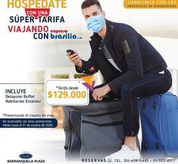 Cupón Expreso Brasilia en San Jacinto ( 11 días más )