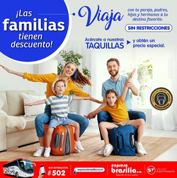 Cupón Expreso Brasilia en Cartagena ( 4 días más )
