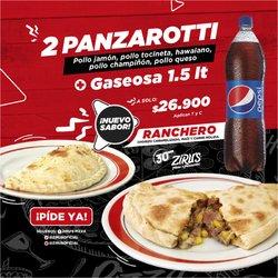 Ofertas de Restaurantes en el catálogo de Zirus Pizza en Cúcuta ( 3 días publicado )