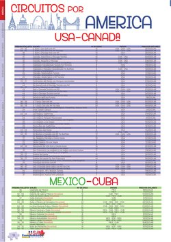 Ofertas de Viajes en el catálogo de EuropaMundo en Apartadó ( Más de un mes )