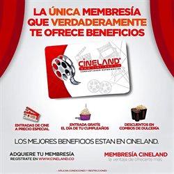 Ofertas de Libros y ocio en el catálogo de Cineland en Santa Marta ( 10 días más )