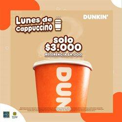 Catálogo Dunkin Donuts ( 26 días más )