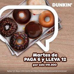 Catálogo Dunkin Donuts ( Publicado hoy)