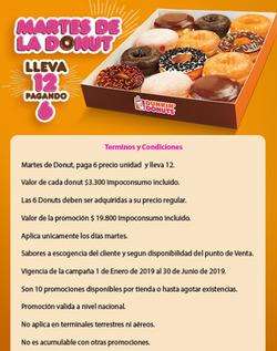 Ofertas de Dunkin Donuts  en el catálogo de Bogotá