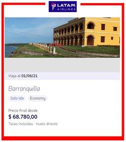 Ofertas de Viajes en el catálogo de Latam en Pereira ( Publicado ayer )