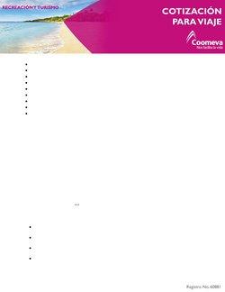 Ofertas de Viajes en el catálogo de Coomeva ( 11 días más )