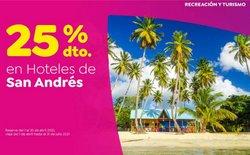 Ofertas de Viajes en el catálogo de Coomeva en Santo Tomás ( 20 días más )