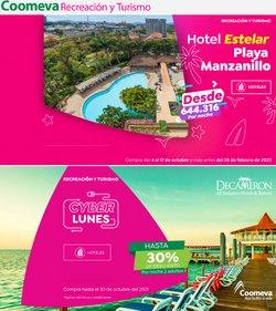 Ofertas de Viajes en el catálogo de Coomeva ( Vence hoy)
