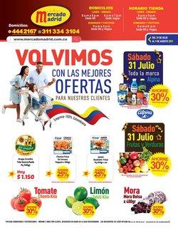 Ofertas de Mercado Madrid en el catálogo de Mercado Madrid ( 8 días más)