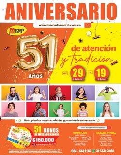 Ofertas de Mercado Madrid en el catálogo de Mercado Madrid ( 2 días más)