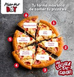 Ofertas de Pizza en Pizza Hut