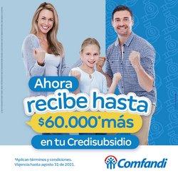 Catálogo Comfandi ( 30 días más)