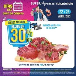 Catálogo Colsubsidio en Bogotá ( Vence mañana )