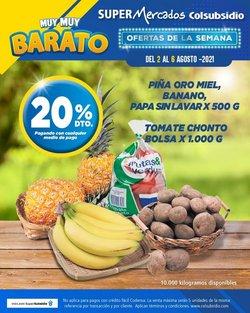 Ofertas de Supermercados en el catálogo de Colsubsidio ( Vence mañana)