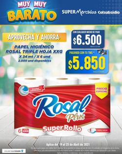 Cupón Colsubsidio en Bogotá ( 3 días más )