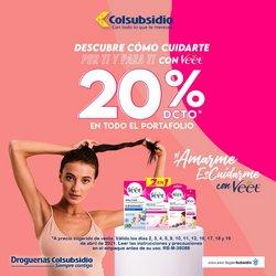 Ofertas de Farmacia, droguería y óptica en el catálogo de Droguerías Colsubsidio en Funza ( Caduca hoy )