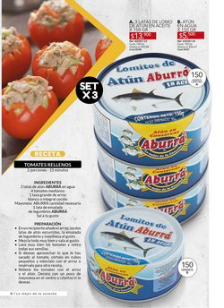 Ofertas de Atún en Marketing Personal