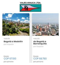 Ofertas de Viajes en el catálogo de Viajes Arauca ( 4 días más)