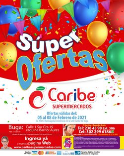 Catálogo Caribe Supermercados en Buga ( Caducado )