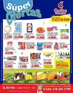 Ofertas de Supermercados en el catálogo de Caribe Supermercados ( Vence hoy)