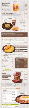 Ofertas de Restaurantes en el catálogo de Pan pa' ya! ( 10 días más )