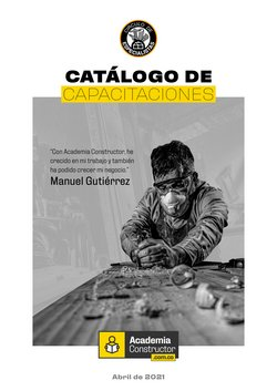 Catálogo Constructor en Cartagena ( 9 días más )