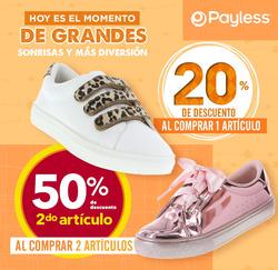 Cupón Payless en Madrid ( 2 días más )