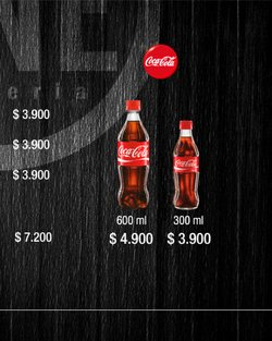 Ofertas de Coca-Cola en One Pizzeria