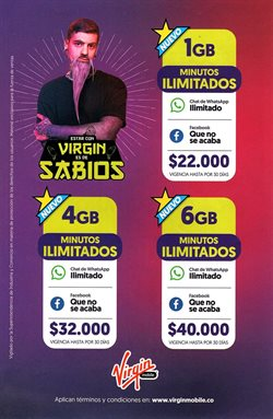 Ofertas de Informática y electrónica en el catálogo de Virgin en Manizales ( 3 días más )