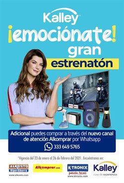 Ofertas de Informática y electrónica en el catálogo de Kalley en Manizales ( Publicado ayer )