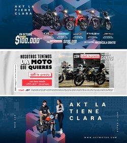 Ofertas de Carros, Motos y Repuestos en el catálogo de AKT ( 14 días más)