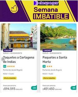 Ofertas de Viajes en el catálogo de Despegar ( Vence hoy)