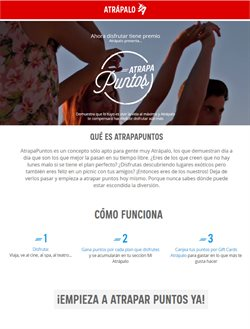 Ofertas de Atrápalo  en el catálogo de Bogotá