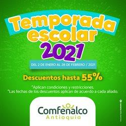 Ofertas de Bancos y seguros en el catálogo de Comfenalco en La Estrella ( Caduca hoy )