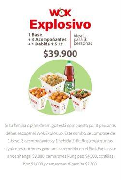 Ofertas de Restaurantes en el catálogo de Sr. Wok ( Más de un mes )