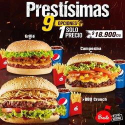 Ofertas de Restaurantes en el catálogo de Presto en Bello ( 10 días más )