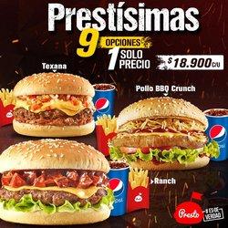 Ofertas de Restaurantes en el catálogo de Presto ( 10 días más )
