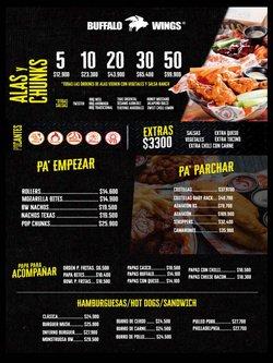 Ofertas de Restaurantes en el catálogo de Buffalo Wings ( Más de un mes)