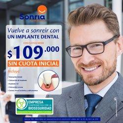 Ofertas de Farmacia, droguería y óptica en el catálogo de Sonría ( 8 días más )