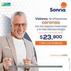 Ofertas de Farmacias, Droguerías y Ópticas en el catálogo de Sonría ( 14 días más)