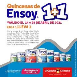 Ofertas de Farmacia, droguería y óptica en el catálogo de Droguería Alemana en Medellín ( 6 días más )