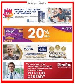 Ofertas de Farmacia, droguería y óptica en el catálogo de Droguería La Botica en Rionegro Antioquia ( Publicado ayer )