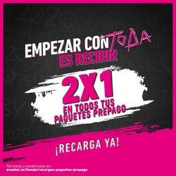 Ofertas de Informática y electrónica en el catálogo de Avantel en Manizales ( 3 días más )