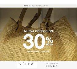 Ofertas de Vélez en el catálogo de Vélez ( 4 días más)