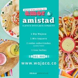 Ofertas de Wajaca en el catálogo de Wajaca ( 3 días más)